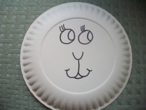 Lamb Craft Face 300x225 Spring In Like a Lion & Out Like a Lamb Craft Project for Kids