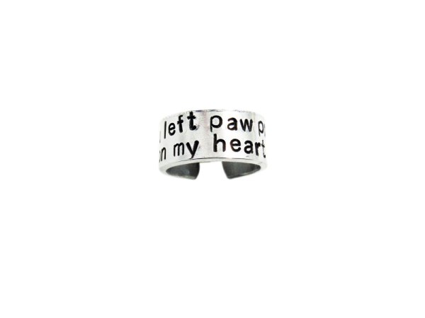 paw print on my heart