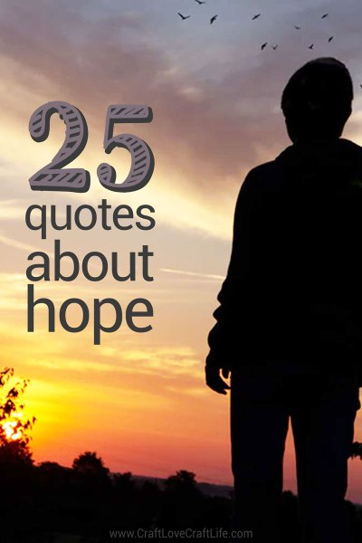 25 quotes about hope