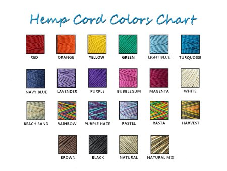 hemp colours