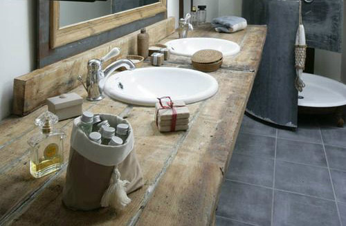 RENEW How to Remodel A Bathroom with Reclaimed Wood