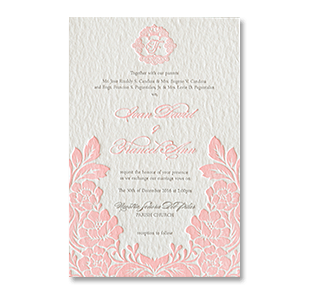 Wedding Invitations Manila Philippines Letterpress