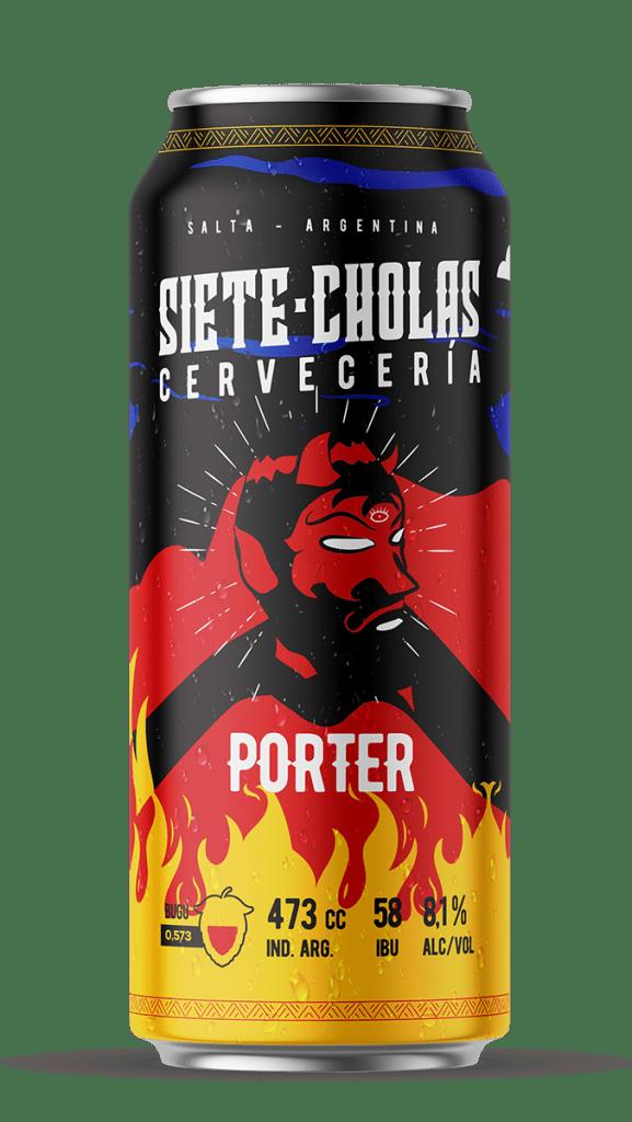 Siete Cholas Porter 473cc x12