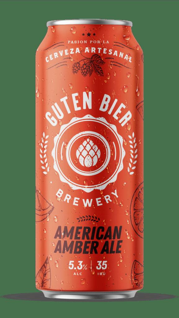 Guten Bier American Amber Ale 473cc  x12