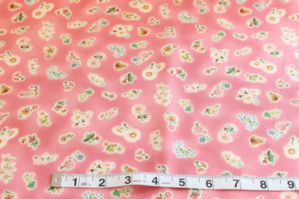 One is One Pink Fabric Material