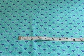 Horizon Ocean Ultramarine Fabric Material
