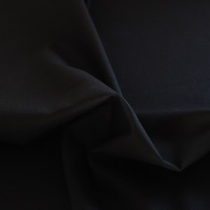 Bella Solids Black Fabric Material
