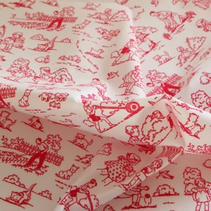 Pink Childhood Fabric Material