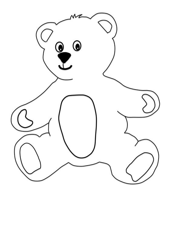 Teddy Bear Cut Outs @TB01