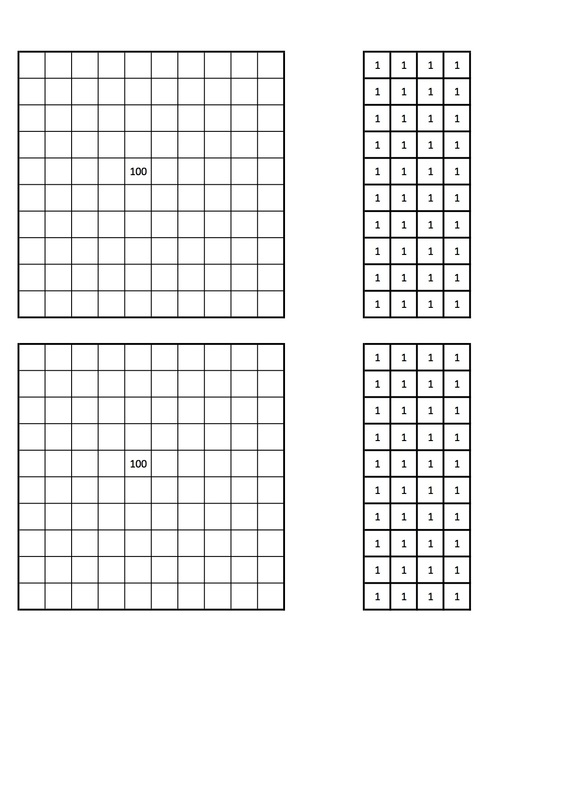 Maths Aid: Hundreds Tens and Ones