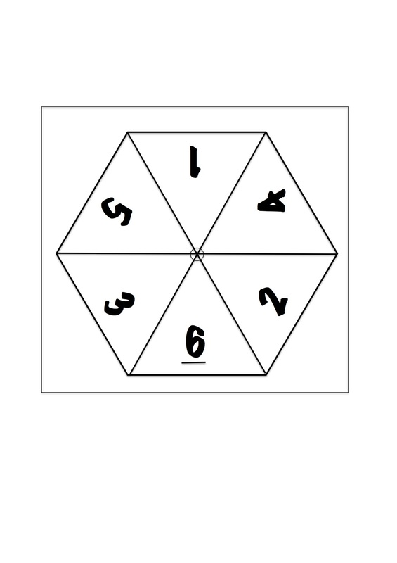 Number Spinners for Maths