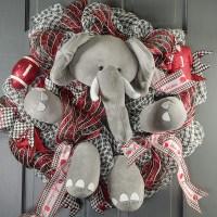 Plush Elephant Wreath Decor Kit (5 pieces) [MD0214 ...