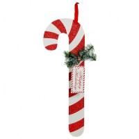 """23"""" Wooden Candy Cane Decoration: Red & White [82750RDWT ..."""