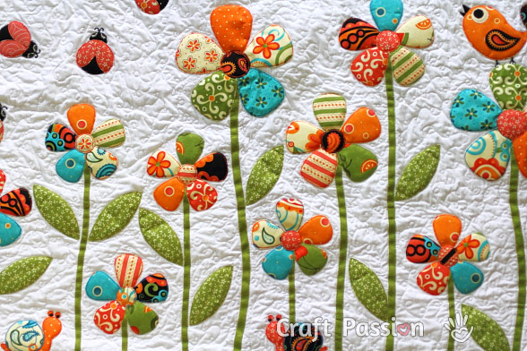 flower applique pattern