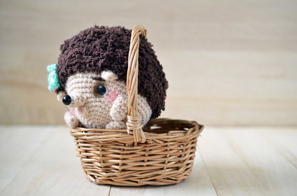 hedgehog amigurumi pattern