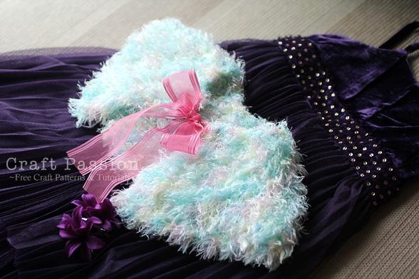fur shrug knit pattern