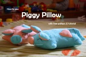 piggy pillow sewing pattern