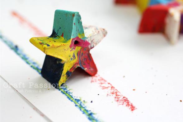 star oil pastel
