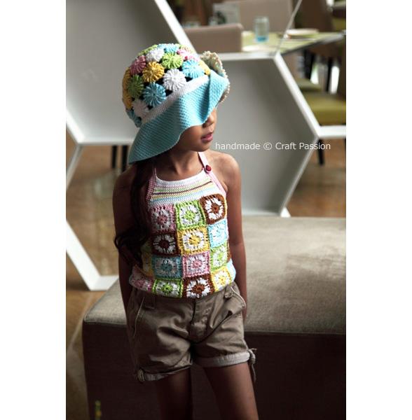 crochet pattern summer hat