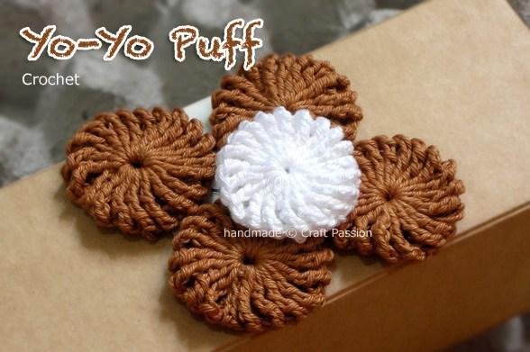 crochet yoyo puff