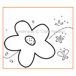 Embroidary Flower Free Pattern