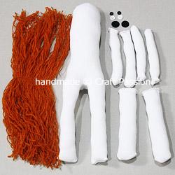 Sew Sock Skeleton