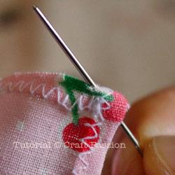 Sew blanket sticth