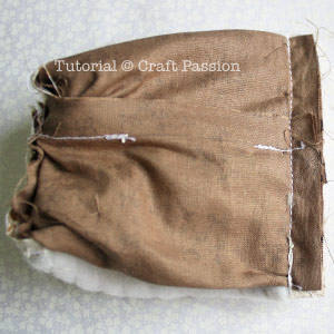 sew coin purse with lining
