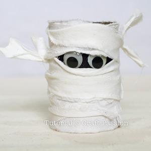 mummy pencil holder
