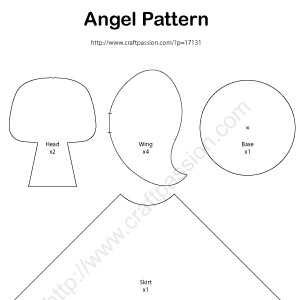 Poinsettia Craft Pattern