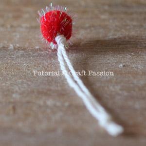 pom pom hang string