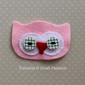 sew button eyes