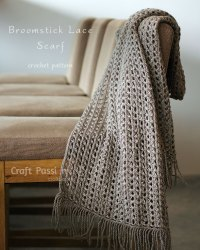 Broomstick Lace Scarf - Free Crochet Pattern | Craft ...