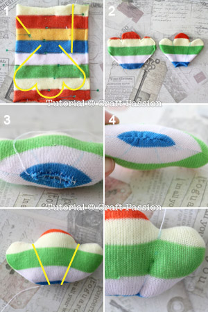 sew bird feet