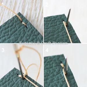 stitch leather