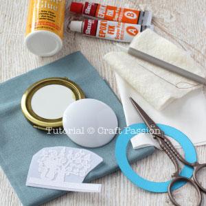 pocket mirror materials