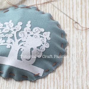 pocket mirror fabric