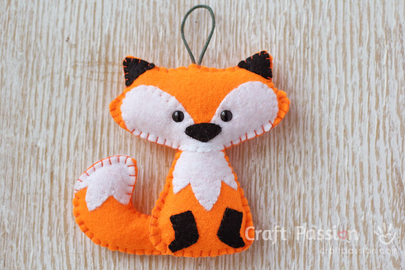 Padrão de raposa de laranja