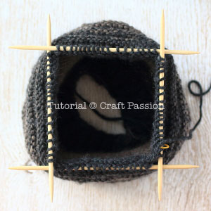 double pointed needle knitting