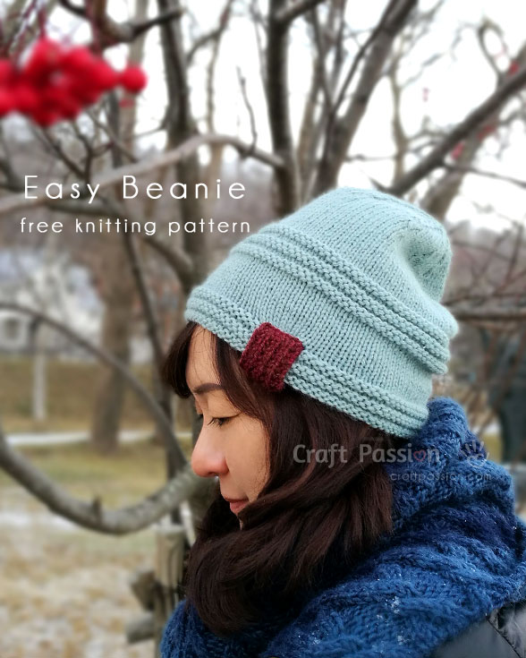 easy beanie pattern