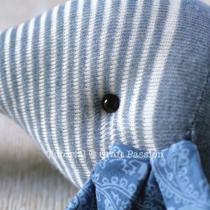 sew sock elephant