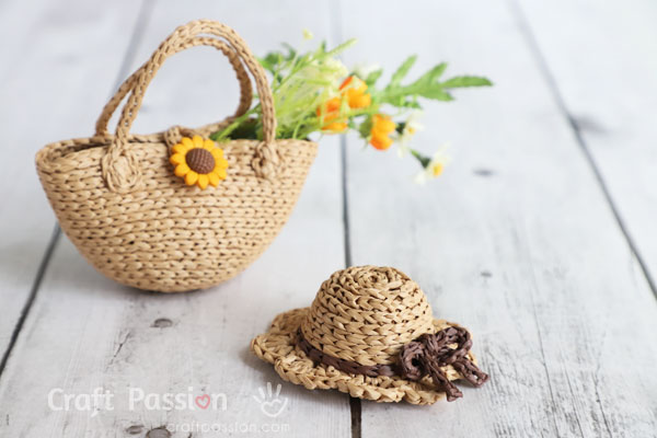 mini sun hat totecrochet pattern