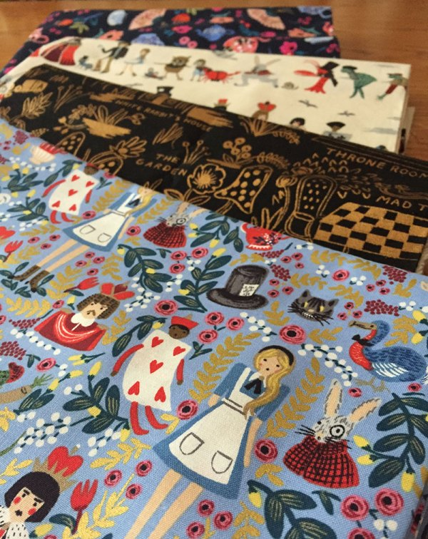 Building Fabric Stash Anna Bond Wonderland