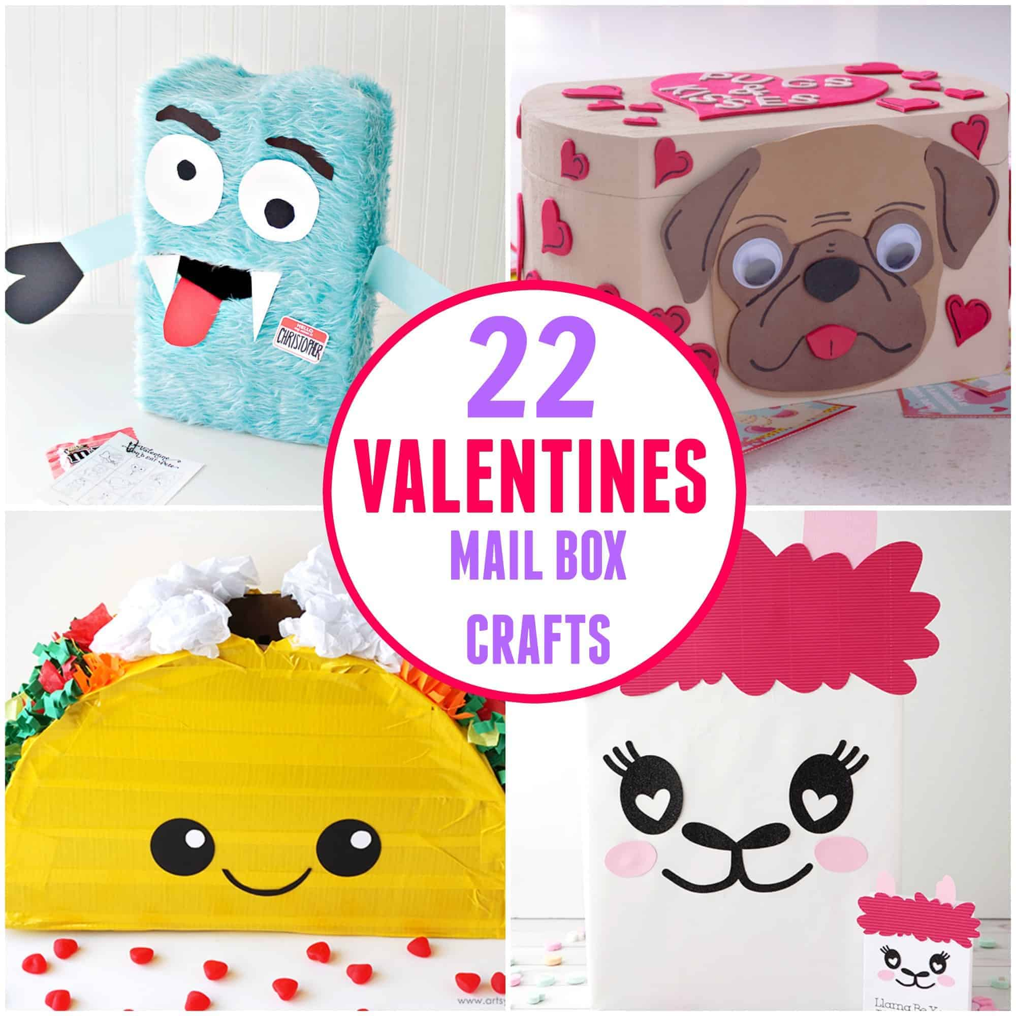 22 Easy To Make Valentine S Mail Boxes