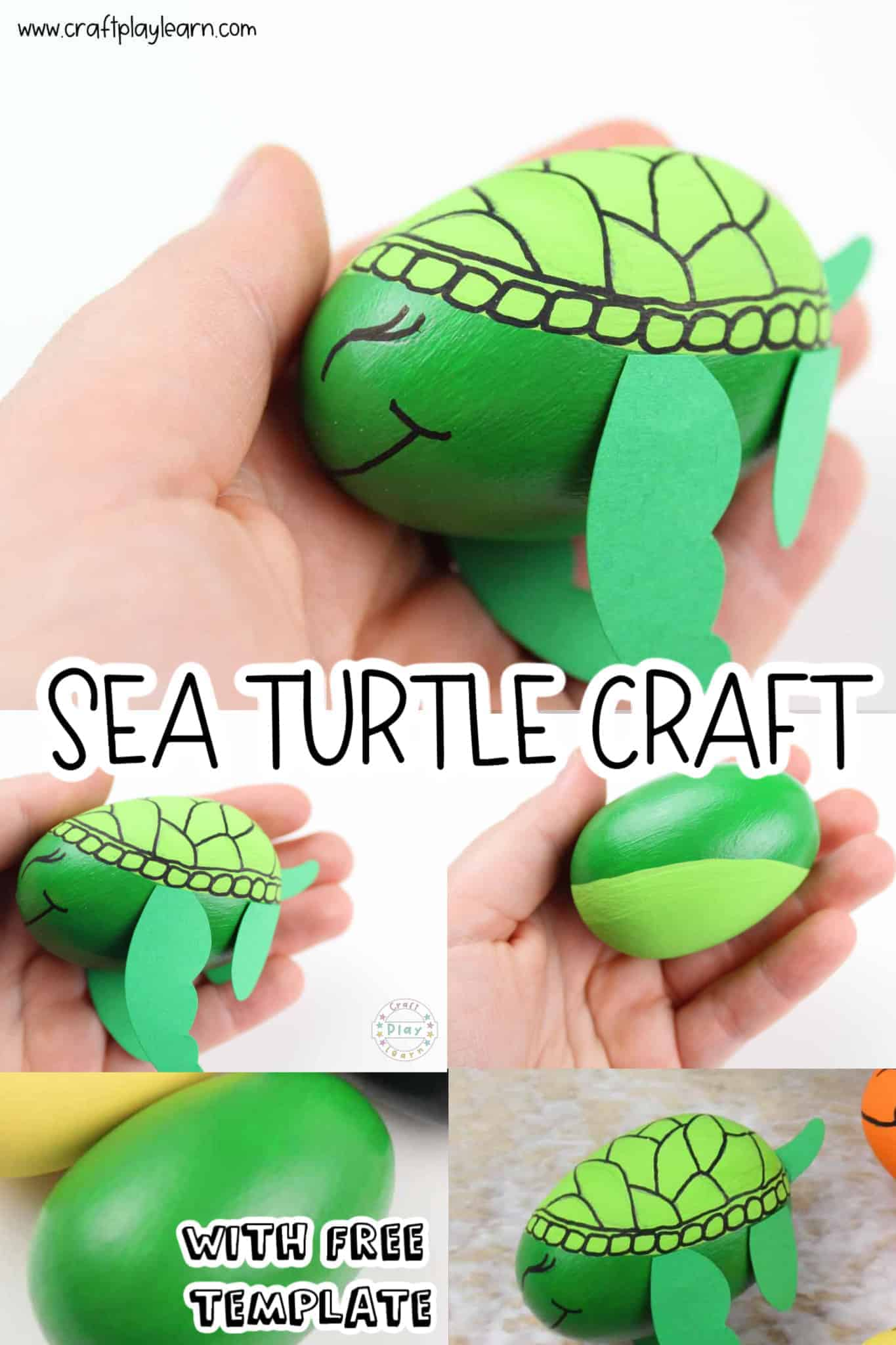 Easy Sea Turtle Craft For Kids