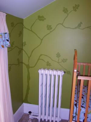 Make a Baby Room Mural
