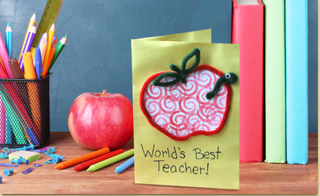 From our post 20 Last Minute Handmade Teacher's Day Card ideas at ArtsyCraftsyMom.com - Free, printable and personalized thank-you cards that kids can make and Teachers will love! Perfect for National Teacher Appreciation Week and or end of school Teacher appreciation tags.