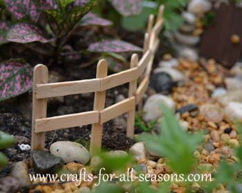 Make A Fairy Garden From The Furniture To The Fairies!