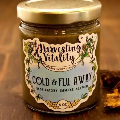 Harvesting Vitality Cold & Flu Away: Respiratory Immune Support