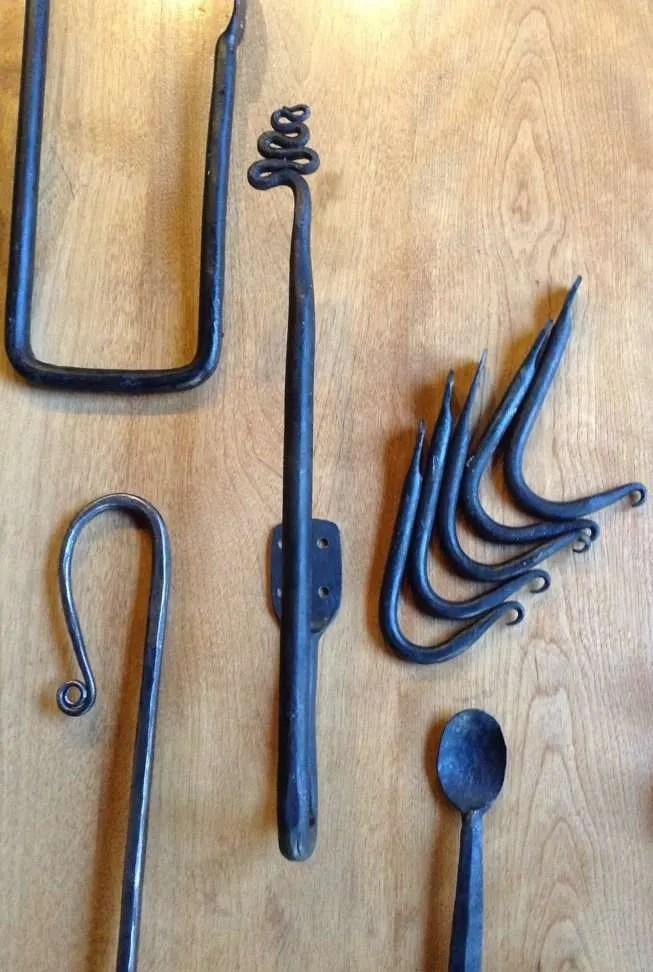 Alder Hardt Ironworks - more spoons & hooks - Hardwick, VT